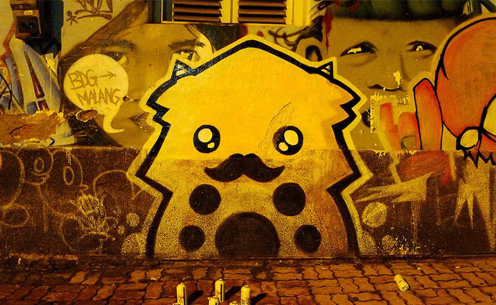 Mustache Dino « The Yellow Dino